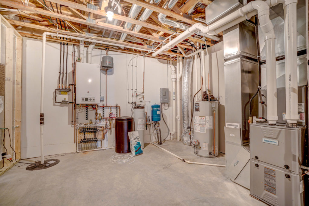 furnace room