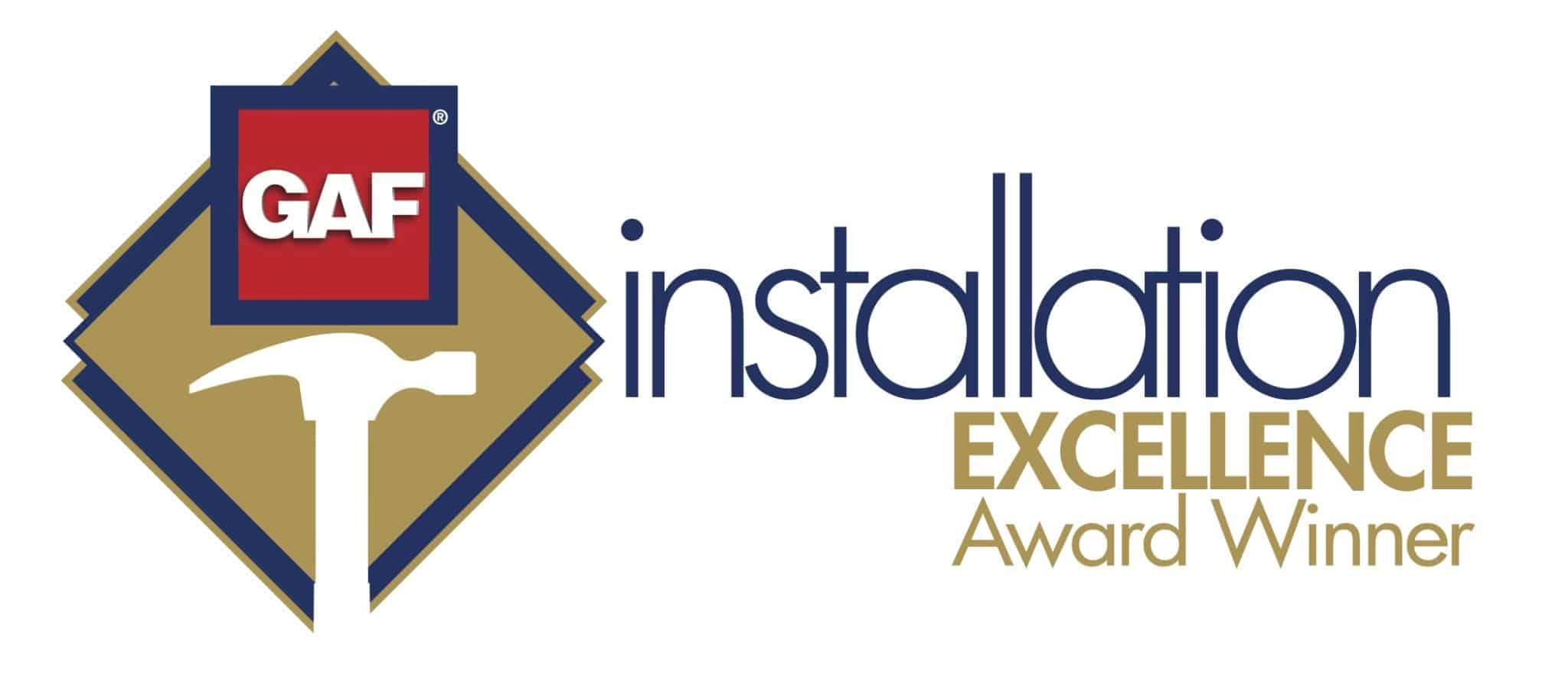 GAF Installation Excellence Award