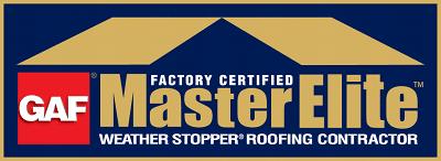 Master Elite Gold Certified Roofer