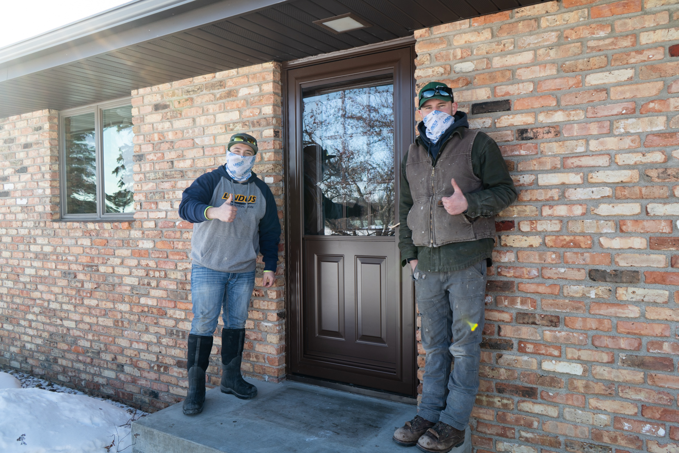 door installers after project is done